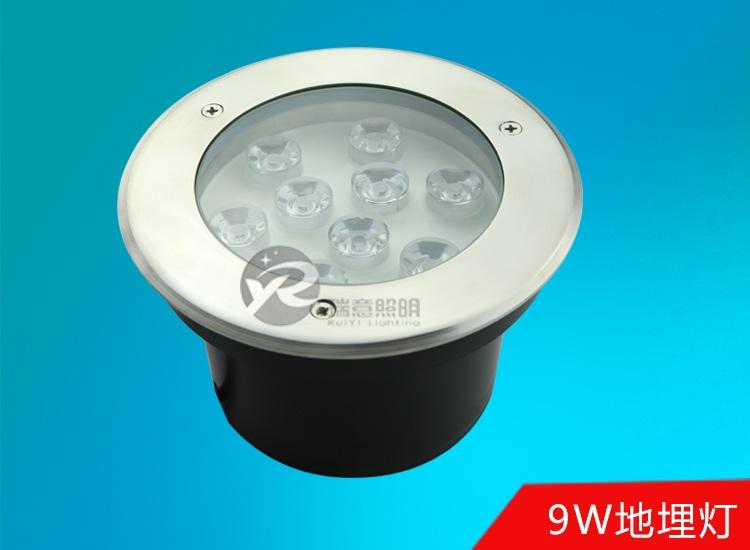 9W圆形LED地埋灯