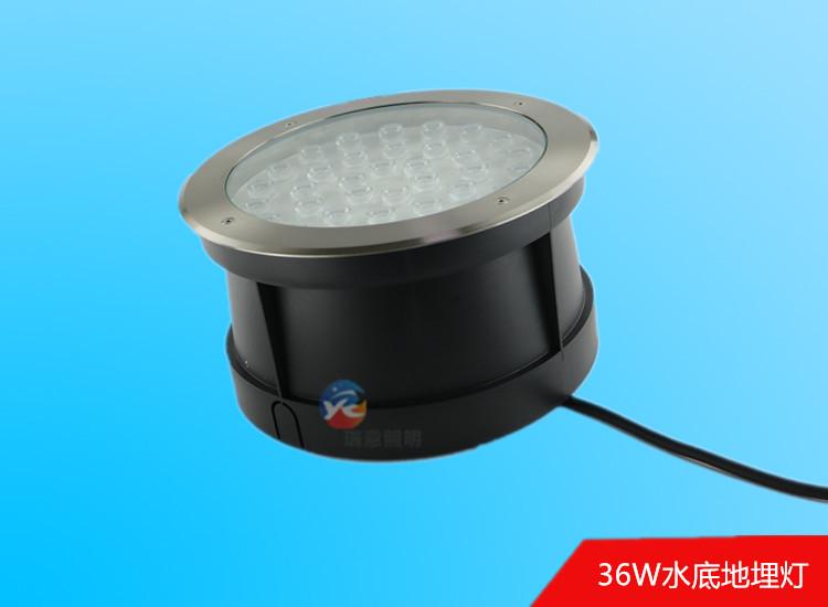 36W304不锈钢嵌入式水底地埋灯