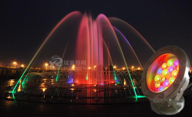 水景亮 LED水底灯 LED水底灯厂家 瑞意照明