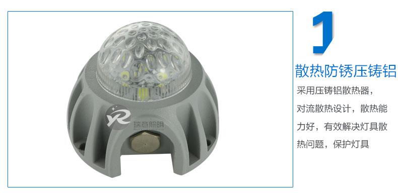 Φ72圆形LED点光源实拍图-1
