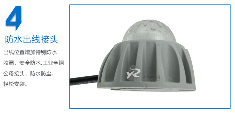 Φ72圆形LED点光源实拍图-4
