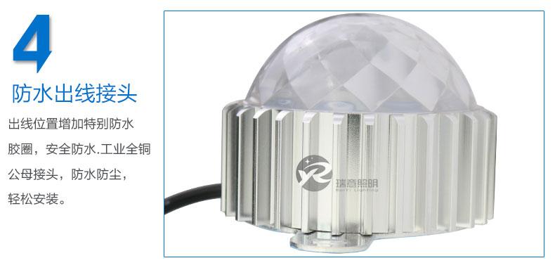 Φ85圆形LED点光源实拍图-4
