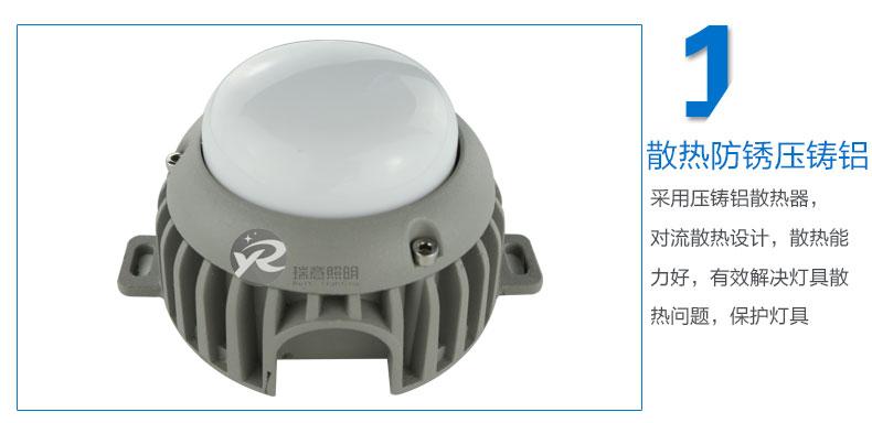 Φ90圆形LED点光源实拍图-1