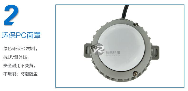 Φ90圆形LED点光源实拍图-2