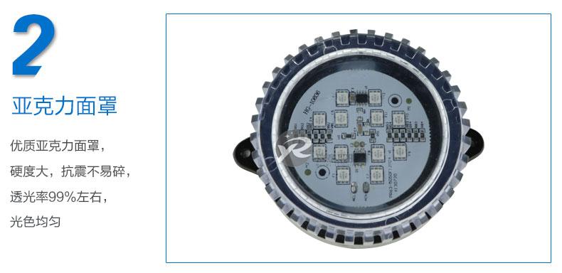 Φ95圆形LED点光源实拍图-2
