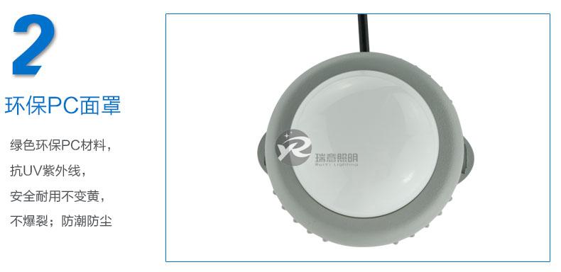 Φ100A圆形LED点光源实拍图-2