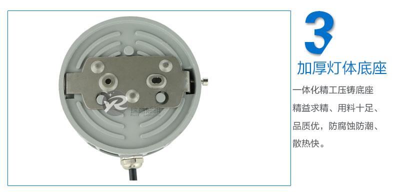 Φ100圆形LED点光源实拍图-3