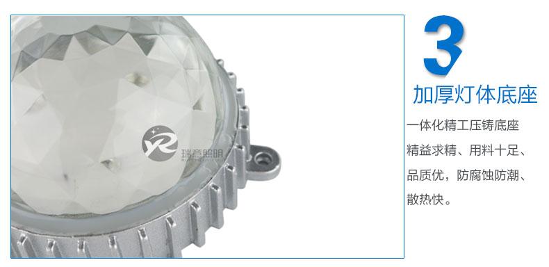 Φ110圆形LED点光源实拍图-3