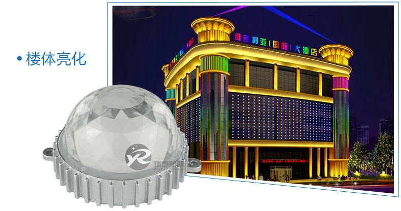Φ110圆形LED点光源应用图-1