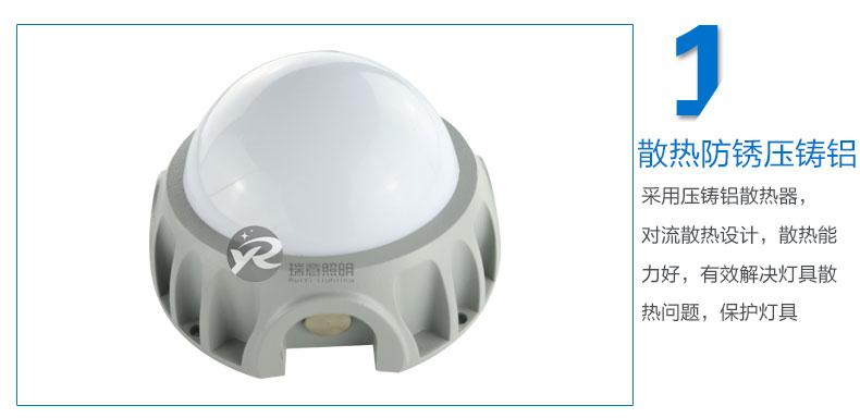 Φ113圆形LED点光源实拍图-1