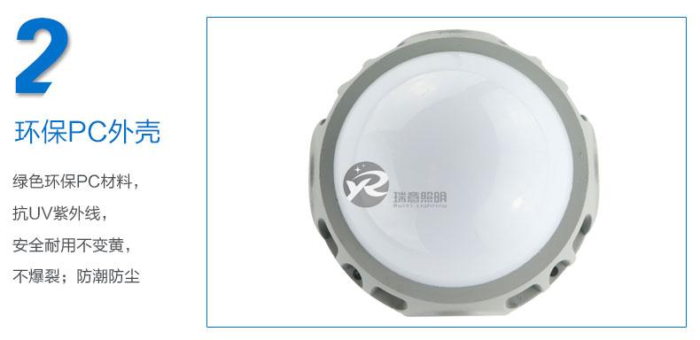 Φ113圆形LED点光源实拍图-2