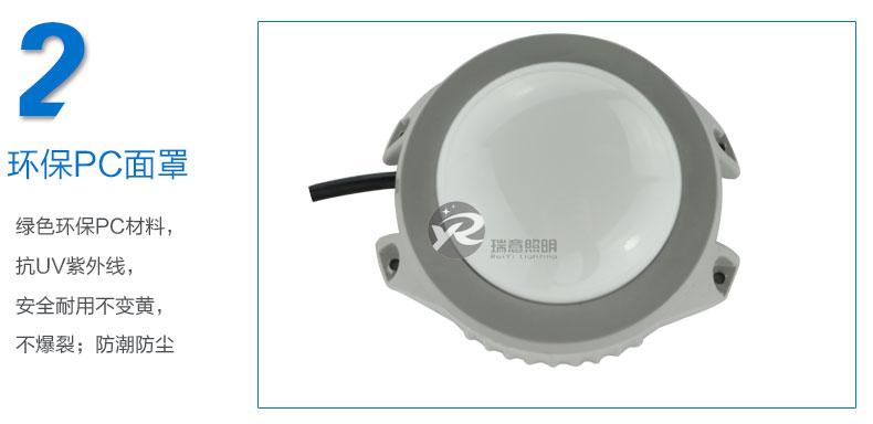 Φ120圆形LED点光源实拍图-2