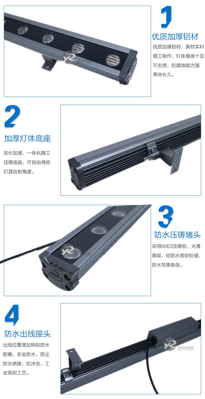 18-24W电源外置LED洗墙灯45*35实拍图