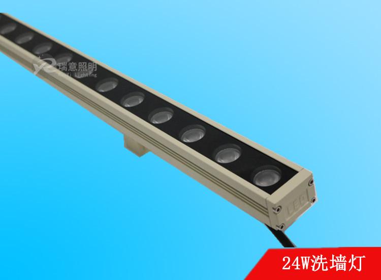 18-24W米黄色LED洗墙灯38*28