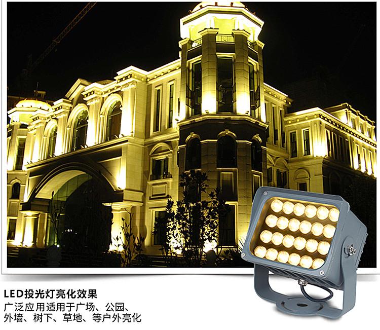 LED投光灯 LED集成投光灯 LED聚光灯 投光灯厂家