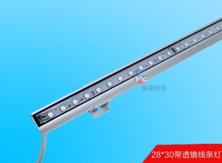 带透镜LED线条灯 LED线条灯 LED线条灯厂家 瑞意线条灯