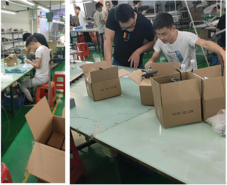 热烈欢迎深圳兆驰品检部来我厂验货