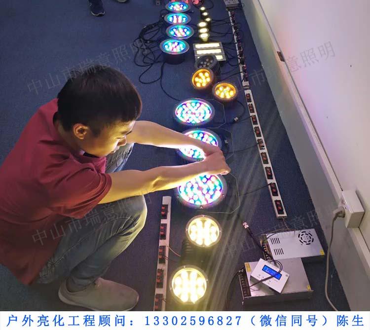 【客户来访】江西吴工亲临瑞意照明验收样品
